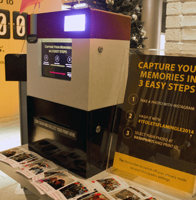 Instant Print Photo Booth